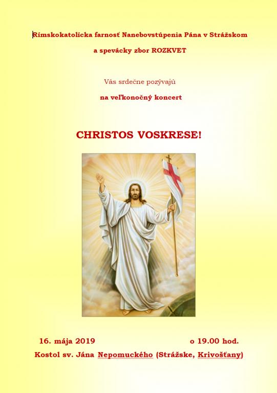 Christos voskrese_pozvánka